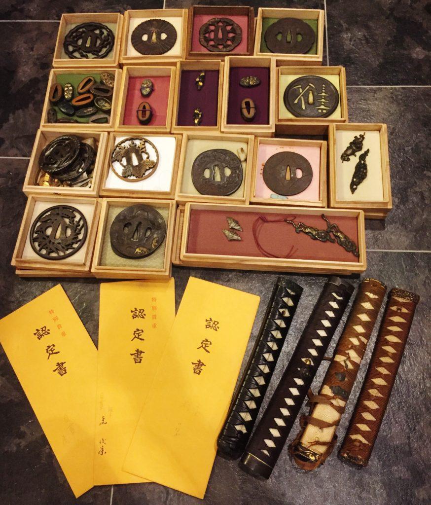 京都府で刀・火縄銃・刀鍔など買取いたしました
