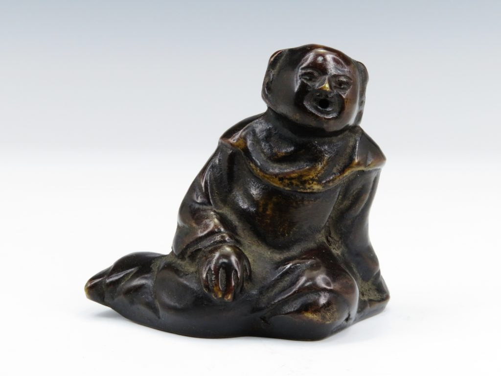 №290「銅製 唐子水滴」